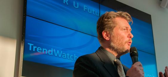 ICT-trendwatcher Richard Lamb op Future Proof ICT netwerkevent RAM Infotechnology