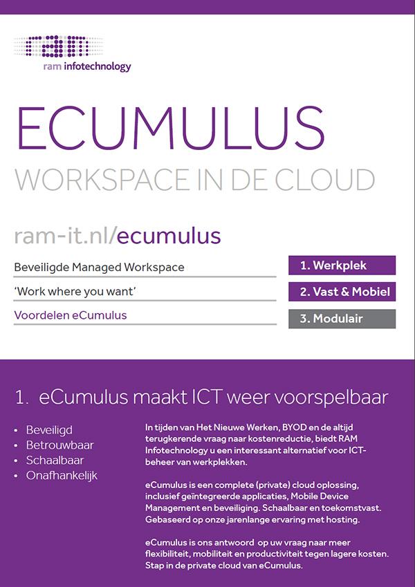 eCumulus maakt ICT weer voorspelbaar