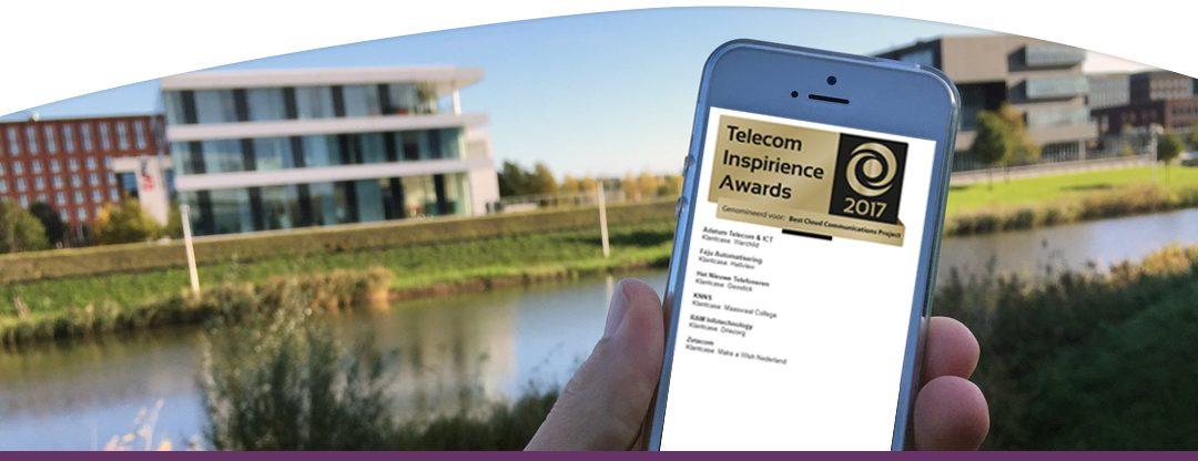 RAM Infotechnology genomineerd voor de Telecom Inspirience Awards