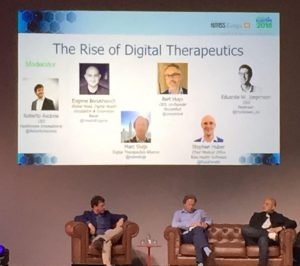 HIMSS Europe 2018 Digital Therapeutics voor de nieuwe zorgconsument.