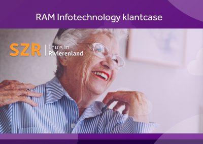 Case Stichting Zorgcentra Rivierenland (SZR): Mobiel werken