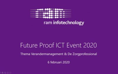 5e Adviseurs Event 'Future Proof ICT 2020' benadrukt belang adoptie bij ICT-implementaties in de zorg