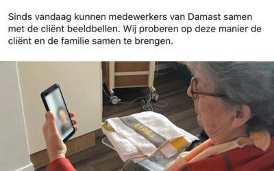 """#6 – 19 maart, Tilburg: """"Bewoners waren ontroerd toen ze konden videobellen met familie"""""""